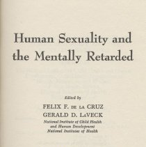 Image of Human Sexuality and the MR