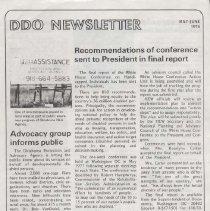 Image of 2005.224.35 - Newsletter