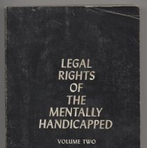 Image of Legal Rights Volume Two