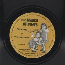 Image of March of Dimes record side 2