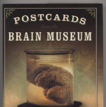 """Image of QM451 .B883 2004 - Book: """"Postcards from the Brain Museum: The Improbable Search for Meaning in the Matter of Famous Minds"""" by Brian Burrell, published by Broadway Books, New York.  Provides brief histories on a number of important figures including Seguin, Galton, Kerlin, and others."""