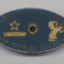 Image of Louisiana Lions League Pin