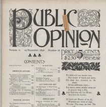 Image of Public Opinion Newspaper