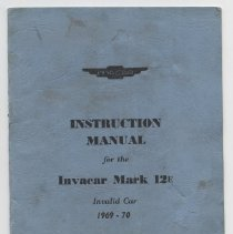 Image of 2006.32.1 - Booklet, Instruction