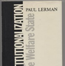Image of HV95 .L46 1982 - Deinstitutionalization and the Welfare State