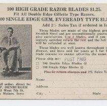 Image of Razor Blades