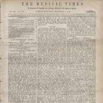 Image of The Medical Times