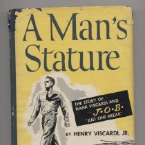 "Image of RD795 .V5 1952 - Book: ""A Man's Stature"" 