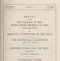 Image of 82D Congress 2d Session   SENATE  Document No. 99