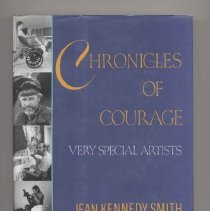 Image of NX504 .C49 1993 - Chronicles Of Courage: very special artists / Jean Kennedy Smith and George Plimpton.