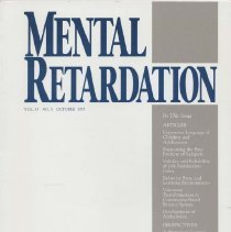 Image of RC569.7 .M46 1995 - Mental Retardation