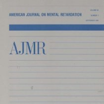 Image of RC326 .A415 1988 - American Journal on Mental Retardation