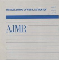 Image of RC326 .A415 1992 - American Journal on Mental Retardation