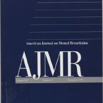Image of RC326 .A415 1996 - American Journal on Mental Retardation