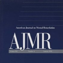 Image of RC326 .A415 1998 - American Journal on Mental Retardation Volume  102 , No. 4 , pp.  319-426  January 1998  Effectiveness of Early Intervention for Vulnerable Children: A Developmental Perspective..by Michael J. Guralnick