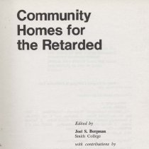 Image of Homes for the Retarded