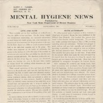 Image of RA790.A1 M533 - Mental Hygiene News 