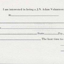 Image of J.N. Adam Volunteer