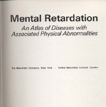 Image of RC570 .M412 1972 - Mental retardation: an atlas of diseases with associated physical abnormalities [by] Lewis B. Holmes [and others]