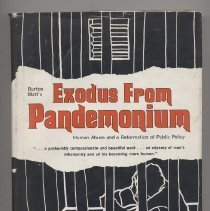 Image of HV3006.A4 B56 1970 - Exodus From Pandemonium; human abuse and a reformation of public policy.