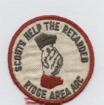 Image of 2008.36.1 - Patch, Merit-badge
