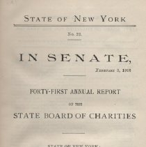 Image of State Board of Charities 1908