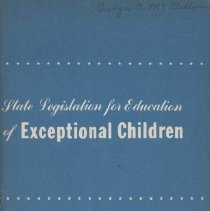 Image of Exceptional Children