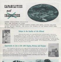 Image of 2009.120.3 - brochure
