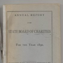 Image of HV88 .N7 1891 - Annual Report of the State Board of Charities for the Year 1890