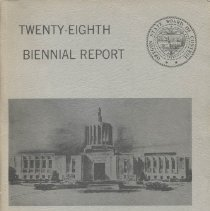 Image of HV86.O7 1969 - Twenty-Eighth Biennial Report  of the Oregon State Board of Control for the Biennial Period Ending June 30, 1968 to the Fifty-Fifth Legislative Assembly, 1969