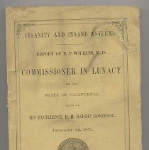 Image of RC439 .C22 1872 - Insanity And Insane Asylums 