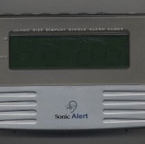 Image of 2009.255.1a-b - Clock, Alarm