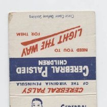 Image of 2009.39.20 - matchcover