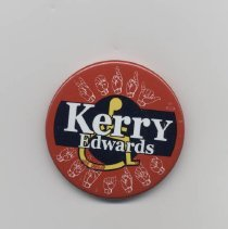 Image of 2010.112.2 - Button, Political