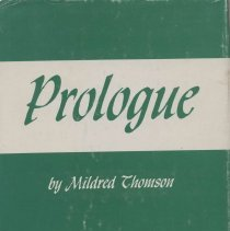 Image of HV3006.M58 T47 1963 - Prologue : A Minnesota Story of Mental Retardation Showing Changing Attitudes and Philosophies Prior to September 1, 1959  by Mildred Thomson