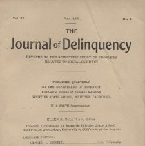 Image of The Journal of Delinquency