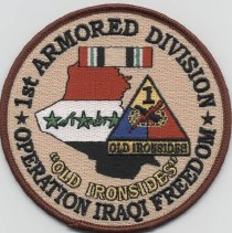 Image of 2010.76.1 - Patch, Military