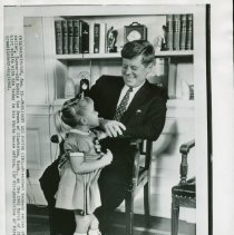 Image of 1962 March of Dimes Poster Girl