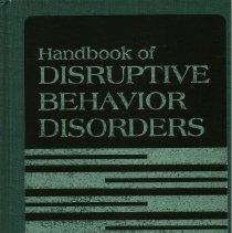 Image of RJ506.B44 H25 1999 - Handbook of Disruptive Behavior Disorders  Edited by Herbert C. Quay and Anne E. Hogan