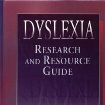 Image of LB1050.5 .S63 1996 - Dyslexia : Research and Resource Guide