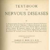 Image of Text-Book on Nervous Diseases