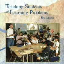 Image of LC4704 .M473 1998 - Teaching students with learning problems / Cecil D. Mercer, Ann R. Mercer.