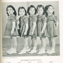 Image of The Dionne Quintuplets