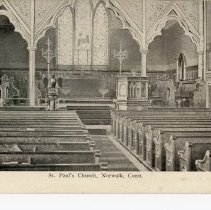 Image of St. Paul's Church, Norwalk, Conn.