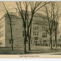 Image of High School, Norwalk, Conn.