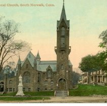 Image of 1st Congregational Church, South Norwalk, Conn.