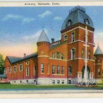 Image of Armory, Norwalk, Conn.
