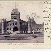 Image of State Armory, Norwalk, Conn.