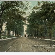Image of West Avenue N. from Seymour Street, South Norwalk, Conn.
