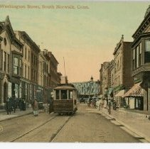 Image of Washington Street, South Norwalk, Conn.